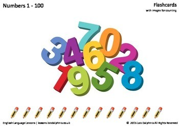 Numbers 1 - 10 Flashcards