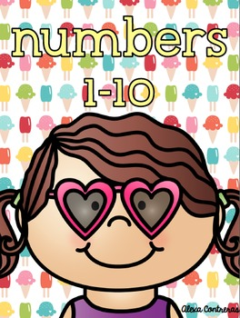 Numbers 1-10 {Practice Pages in English and Spanish} FREEBIE