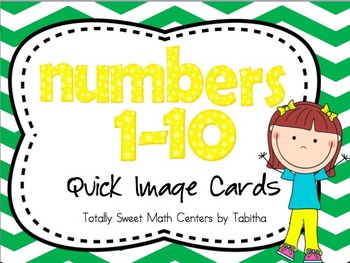 Numbers 1-10 Quick Image Cards