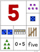 Numbers 1 – 10 Sorting Cards for Pre-K, Kindergarten, and