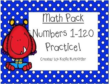 Numbers 1-120 Activities