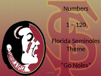 Numbers 1-120 Florida Seminoles