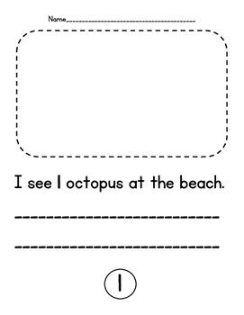 Numbers 1-20 Ocean Book