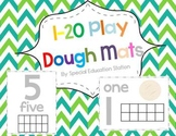Numbers 1-20 Play Dough Mats