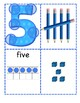 Numbers 1-20 Posters with Tally Marks, Ten Frames and Base