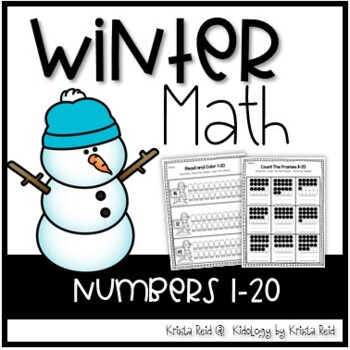 Winter Math Activities and No Prep Printables