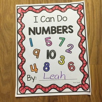 Numbers- 1 through 10 - Draw Sets to Match Number - Kinder