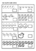 Numbers 1 to 10 Worksheets in NSW Foundation Font