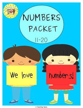 Numbers 11-20 Worksheets Activities Games Printables and More