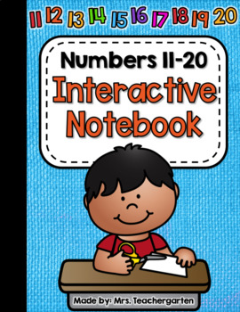 Numbers 11-20 Interactive Notebook