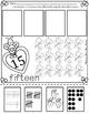 Numbers 11-20 Representing numbers Valentine's VersionBili