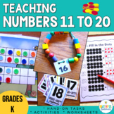 #betterthanchocolate Numbers 11 to 20, teaching teen numbe