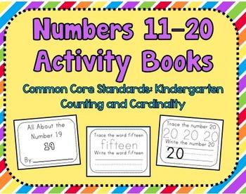 11–20 Activity Book