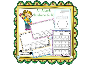 Numbers 6-10 Addition Fluency to ten