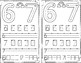 Numbers 6 - 10: Recognizing and Writing Numbers Mini Math Journal
