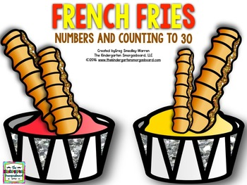Numbers And Counting!  French Fries!  Counting to 30