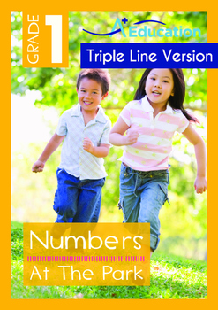 Numbers - At The Park (I) - Grade 1 (with 'Triple-Track Wr