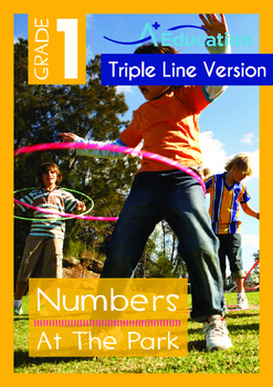 Numbers - At The Park (II) - Grade 1 (with 'Triple-Track W