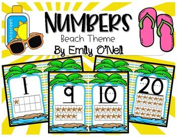 Numbers (Beach Theme)