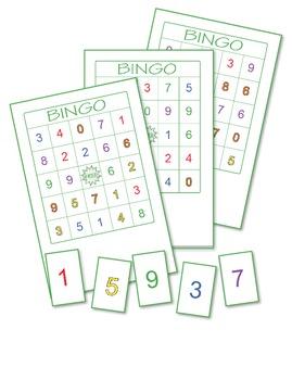 Numbers Bingo 2