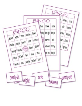 Numbers Bingo 7