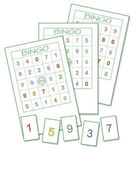 Numbers Bingo Bundle