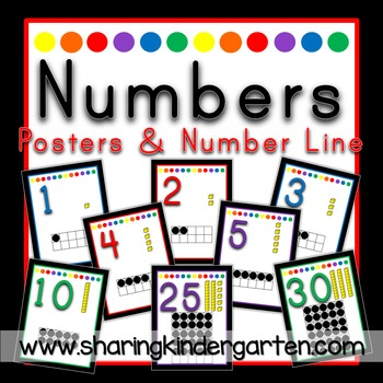 Numbers {Black Primary}