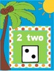 Numbers Chart 1-12 for Back to School (Beach Theme)