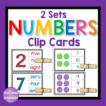 Numbers Clip Cards
