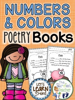 Numbers & Colors Poetry Book