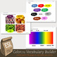 Numbers, Colors and Days and Months Vocabulary Builder Bundle