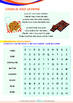 Numbers - Cookies and Snacks (I) - Grade 1 (with 'Triple-T