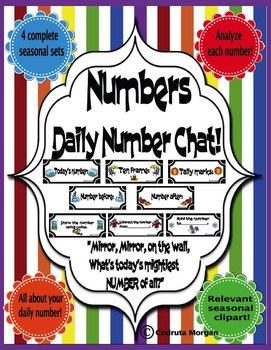 Numbers - Daily Number Chat - CCS Aligned