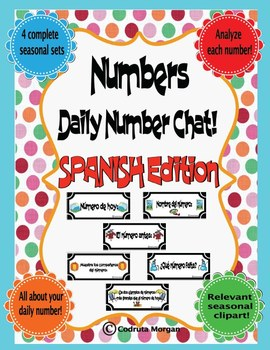 Numbers - Daily Number Chat – SPANISH - CCS Aligned