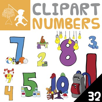 Numbers - Digital ClipArt