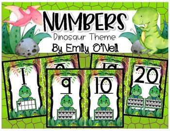 Numbers (Dinosaur Theme)