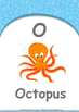 Numbers - Five : Letter O : Octopus - Nursery (2 years old)