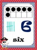 Numbers Flash Cards, Pirate Theme