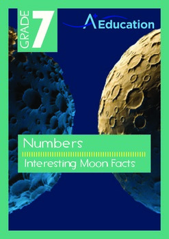 Numbers - Interesting Moon Facts - Grade 7