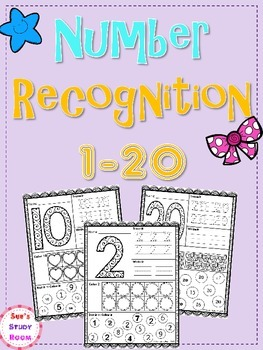 Numbers: Number Recognition 1-20