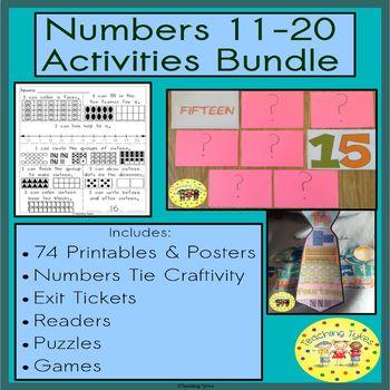 Numbers Numbers Numbers 11-20