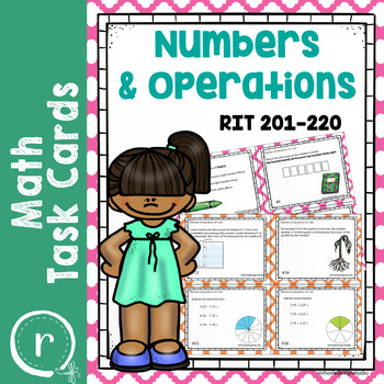 Numbers & Operations Math Interventions or Test Prep Task