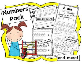 Numbers Pack