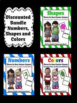 Numbers Shapes and Colors
