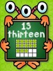 Numbers, Shapes and Colors Posters {Monsters Classroom Dec