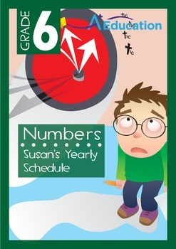 Numbers - Susan's Yearly Schedule - Grade 6