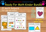 Ready For Math Kinder Bundle