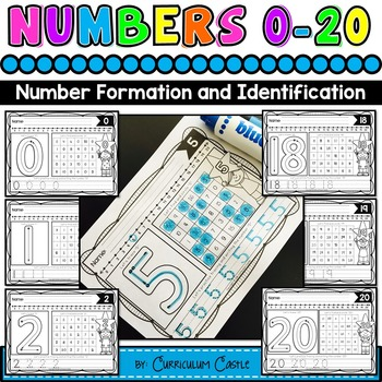 Numbers: Trace & Find 0-20!
