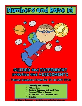 Numbers and Base 10 Guided and Independent Practice and As