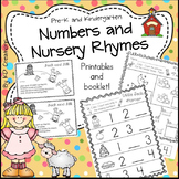 Numbers and Nursery Rhymes in Kindergarten * Counting * Gr